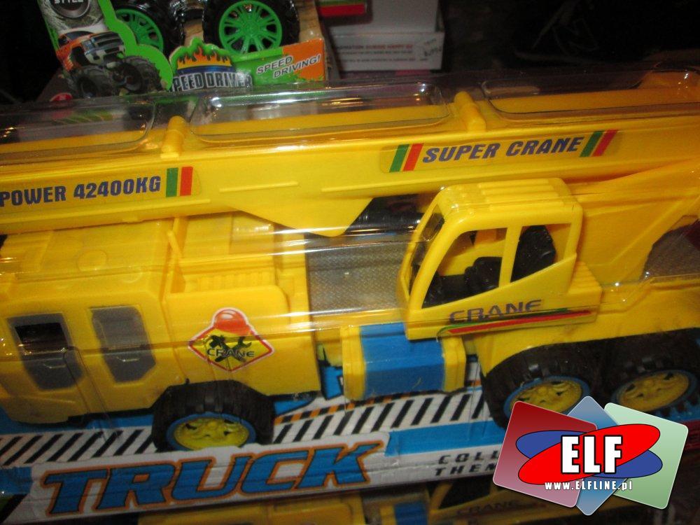 Samochód ciężarówka koparka, koparki, ciężarówki