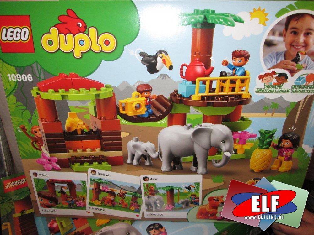 Lego Duplo, 10906 Tropikalna wyspa, klocki