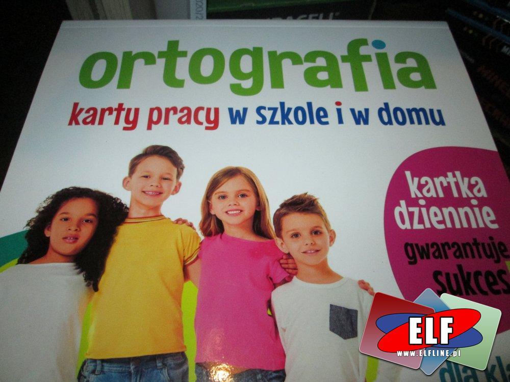 Język angielski, Ortografia, Gramatyka, Matematyka, karty pracy w szkole i w domu, Książka, Książki, Edukacyjna, Edukacyjne
