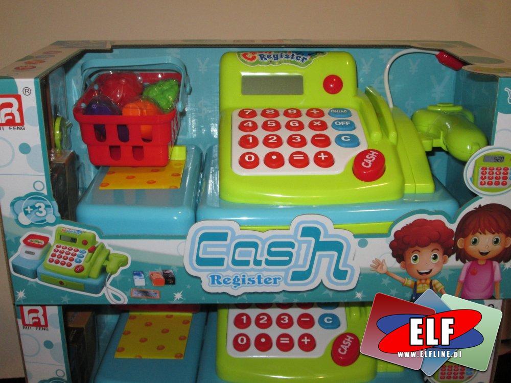 Kasa sklepowa, Zabawa w sklep, zabawka, zabawki