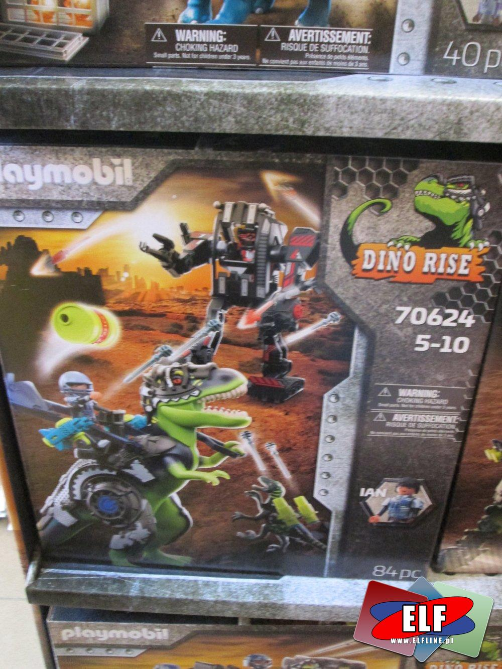 Playmobil Dino Rise, 70628, 70627, 70624, 70629, 70693, klocki