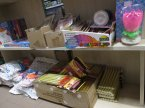 Fontanny tortowe, Piasek do modelowania i inne akcesoria imprezowe i zabawki