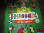 Kolorowanka edukacyjna, Kolorowanki edukacyjne, słówka polskie i angielskie, Lubię kolorować