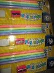 Ołówki z gumką pastelowe, temperówka, gumka, ołówek pastelowy