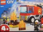 Lego CIty, 60290 Skatepark, 60280 Wóz strażacki z drabiną, klocki