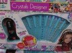 Crystals Designer, Kreatywny zestaw do ozdabiania kryształkami, ozdabiaj przedmioty i siebie, zestaw piękności, zestawy piękności i kreatywne