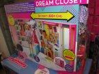 Barbie Dream Closet, Lalka, Lalki, Ubranka, Garderoba, przebieralnia