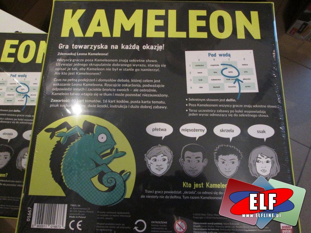 Gra Kameleon, Towarzyska gra na każda okazję! Gry
