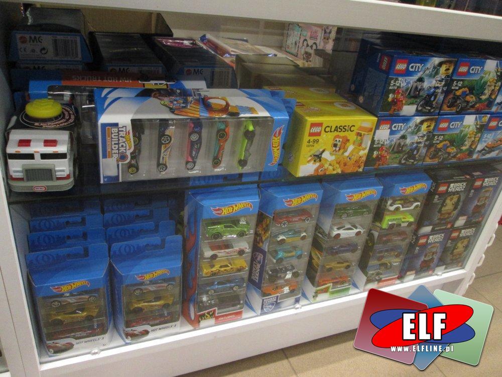 Zabawki, Track Bulter, Samochody, Hot Wheels, Lego City 60170, 60156, 60190, klocki i inne
