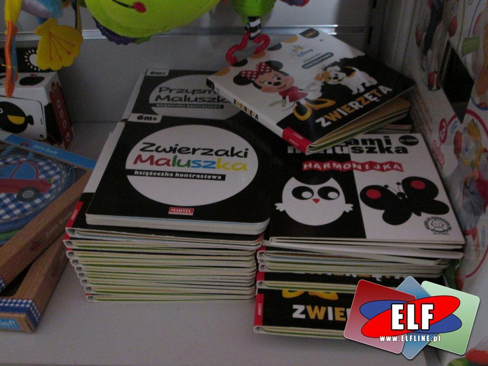 Książeczki dla dzieci, Zwierzęta, Zawieszki maluszka i inne
