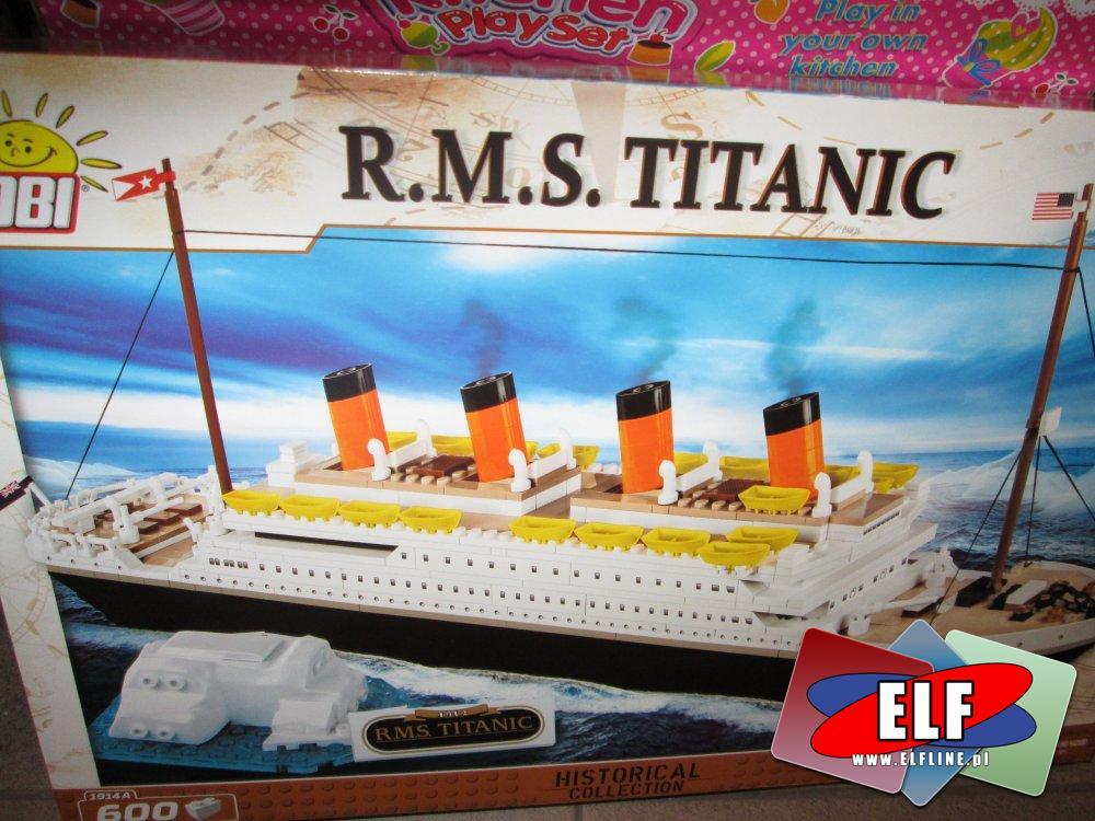Cobi Mała Armia, Statek, Statki, HMS Warspite, Titanic i inne, Klocki