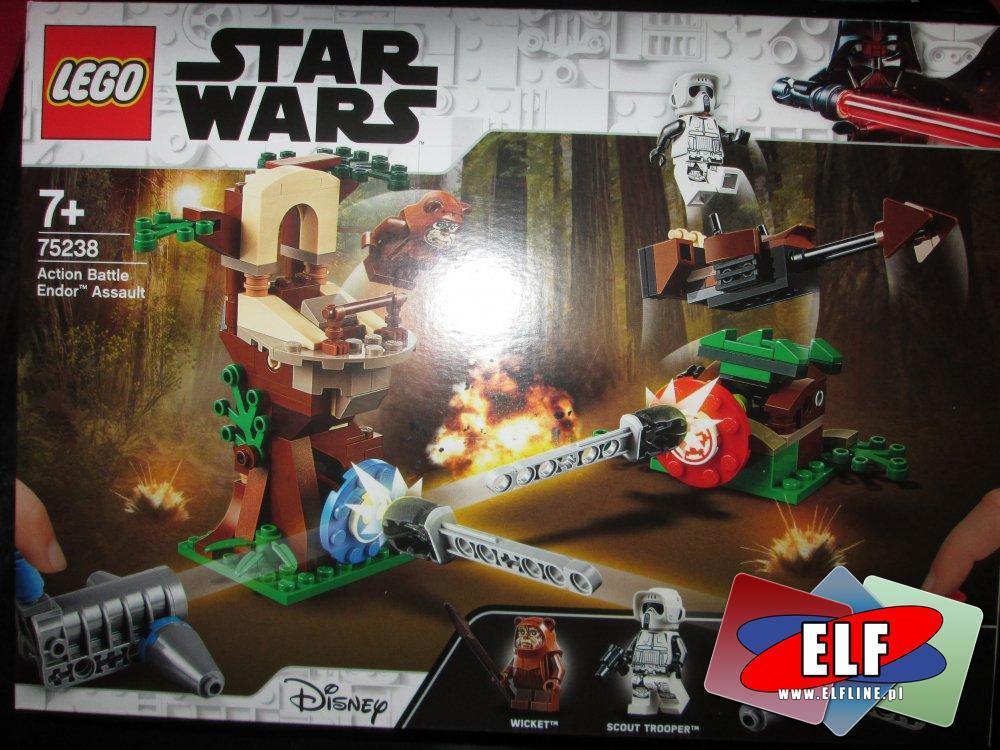 Lego StarWars, 75238 Bitwa na Endorze, klocki Star Wars