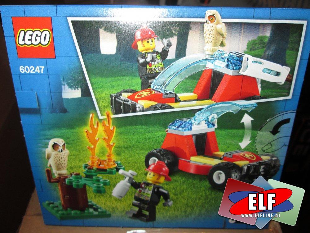 Lego City, 60247 Pożar lasu, klocki