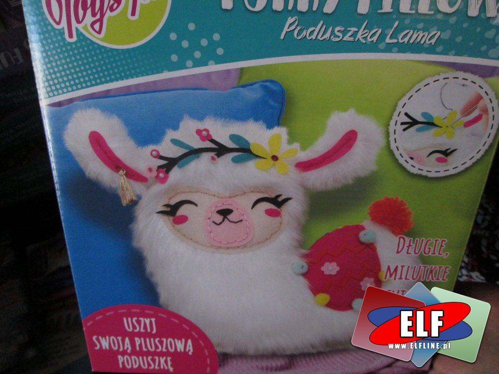 Furry Pillow, Toysinn, Poduszka Lama, Uszyj własną poduszkę, zestaw kreatywny, zestawy kreatywne