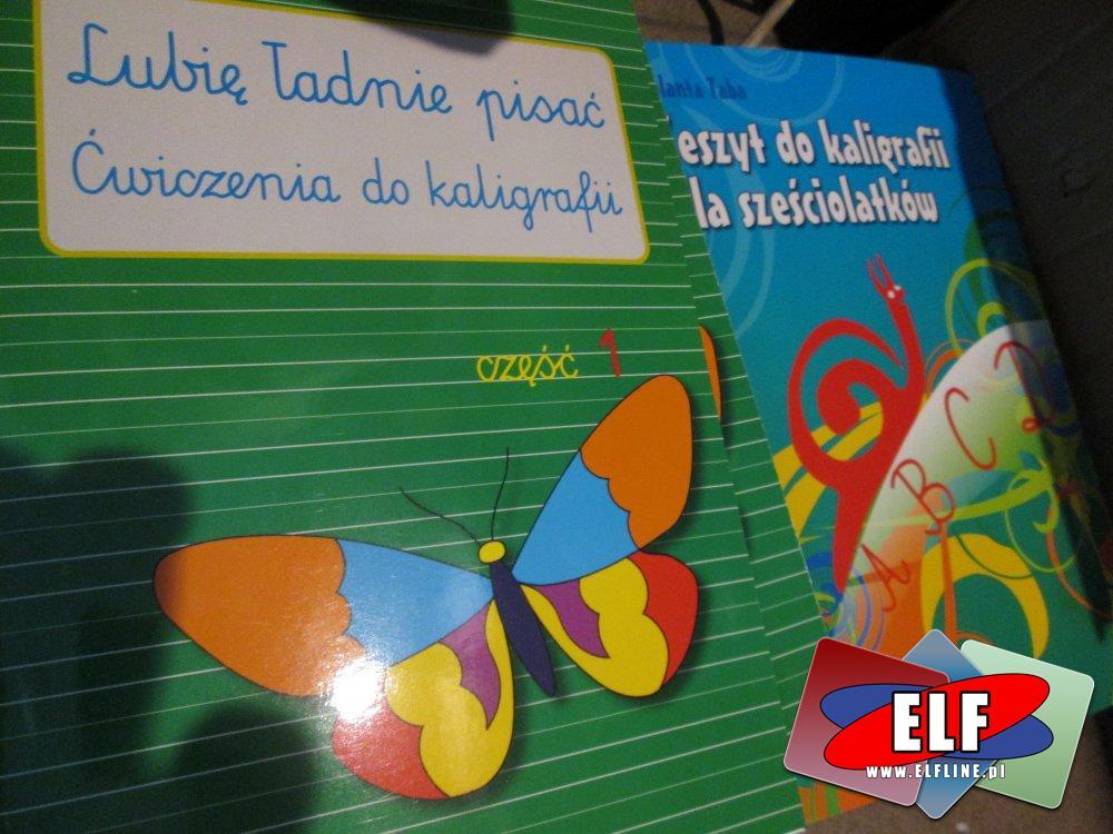 Zeszyty i książeczki kreatywne i edukacyjne dla dzieci, Zeszyt pełen labiryntów, Zeszyt do kaligrafii dla sześciolatków, Zeszyt w linie z tłem, Fantastyczne krzyżówki ortograficzne i wiele innych specjalnych zeszytów