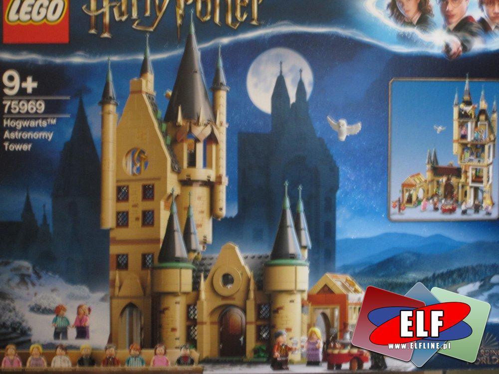 Lego Harry Potter 75969 Wieża Astronomiczna w Hogwarcie, klocki HarryPotter