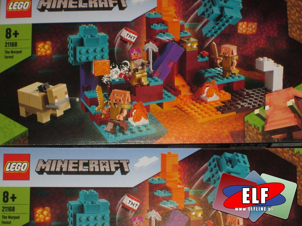 Lego Minecraft, 21168 Spaczony las, klocki
