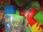 Wader, wiaderka, grabki i inne akcesoria do piaski, na plażę, zabawki Wader, wiaderka, grabki i inne akcesoria do piaski, na plażę, zabawki