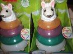 Fisher-Price Piramidka ucząca kolorów itp. zabawka edukacyjna, zabawki edukacyjne