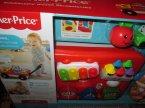 Fisher-Price Edukacyjny wózek szczeniaczka, zabawka edukacyjna, zabawki edukacyjne