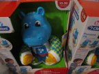 Clementoni, Filipek, Tańczący Hipek, Hipcio, Hipopotam, zabawka interaktywna, zabawki interaktywne