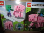 Lego Minecraft, 21156, 21157, BigFig Creeper, klocki