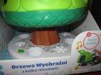 Drzewko wyobraźni z kulko-klockami, zabawka, zabawki, śpiew ptaków