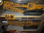 GLW, Metal Models, Dźwig, Dźwigi, zabawka, zabawki, modele metalowe