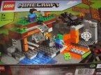 Lego Minecraft, 21167 Punkt handlowy, 21165 Pasieka, 21166 Opuszczona kopalnia, klocki