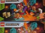 Lego Minecraft, 21168 Spaczony las, klocki Lego Minecraft, 21168 Spaczony las, klocki