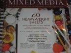 Mixed Media,60 Arkuszy o dużej gramaturze, 60 Heavyweight Sheets, Blok, Bloki artystyczne, arty... Mixed Media,60 Arkuszy o dużej gramaturze, 60 Heavyweight Sheets, Blok, Bloki artystyczne, artystyczny