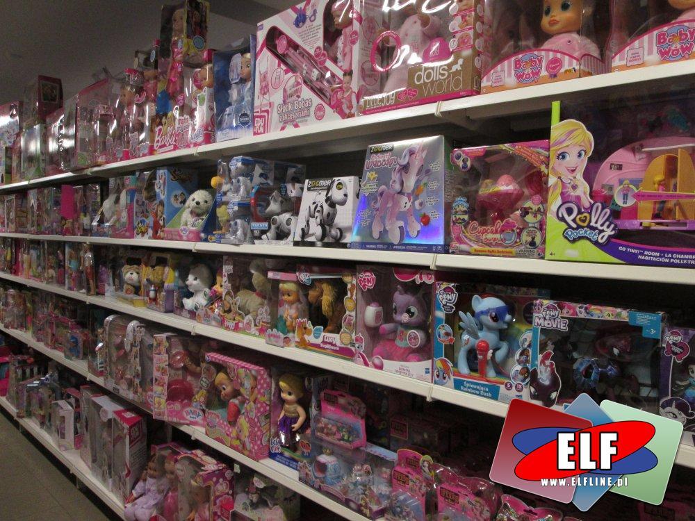 Zabawki, Polly Pocket, Pony Movie, Num Noms, Little Live Pets, Zoomer i inne zabawki