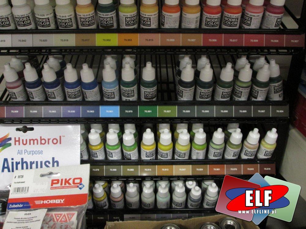 Humbrol Enamel, Farby modelarskie, Farba do modeli, Zwykle i do pistoletów natryskowych, aerografów