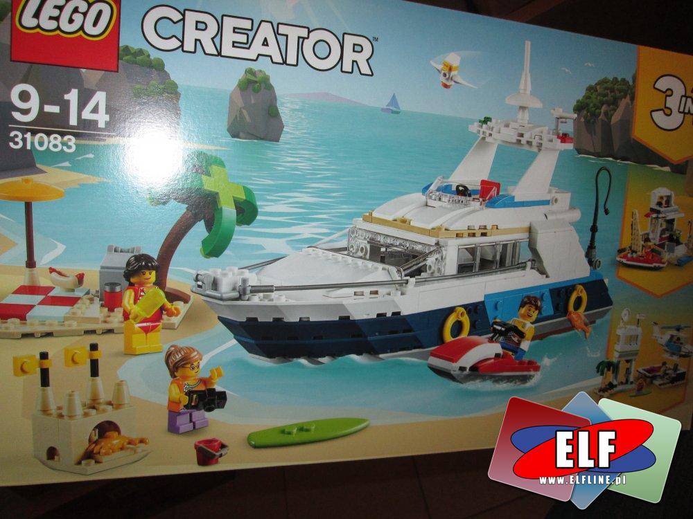 Lego Creator, 31083 Przygody w podróży, klocki