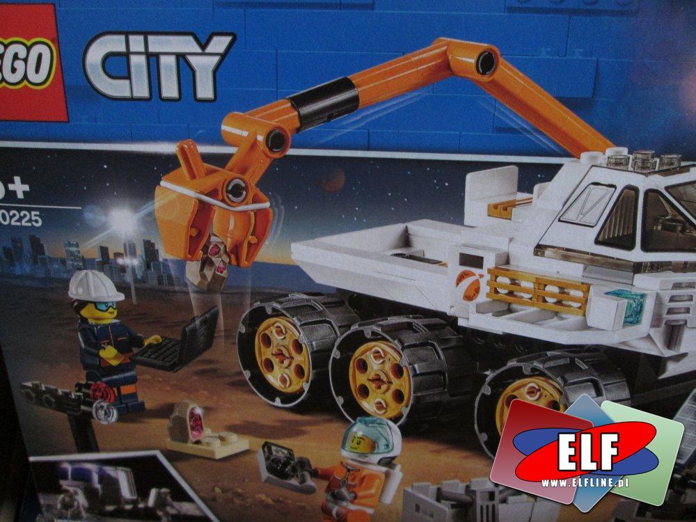 Lego City, 60225 Jazda próbna łazikiem, klocki