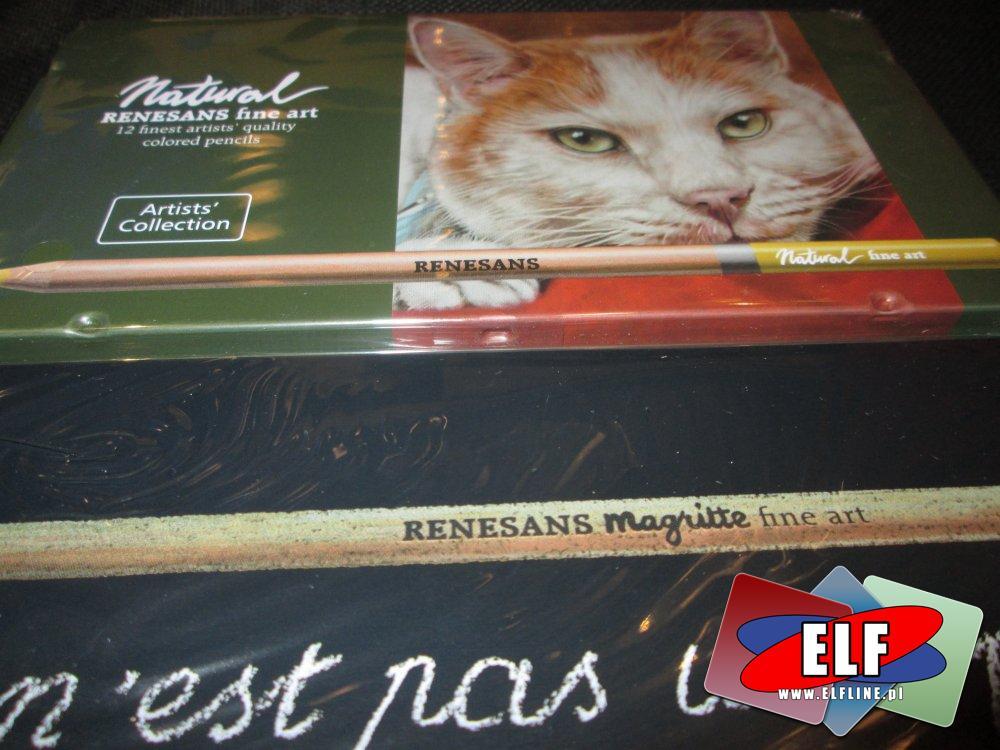 Natural Remesams fine art. artystyczne kolorowe ołówki, ołówek kolorowy artystyczny