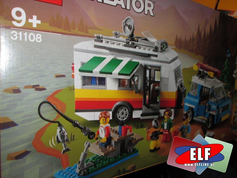 Lego Creator, 31108, 31109, klocki