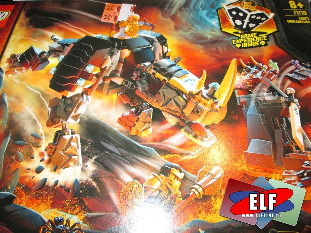 Lego Ninjago, 71719 Rogaty stwór Zane a, klocki