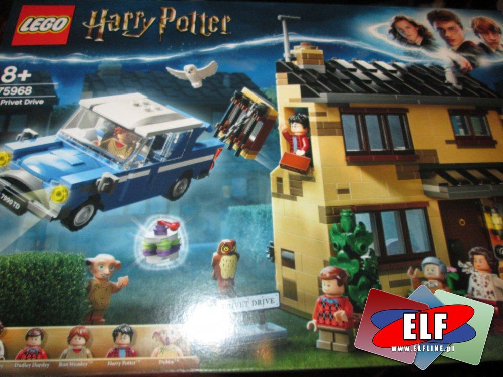 Lego Harry Potter, 75968 Privet Drive 4, klocki
