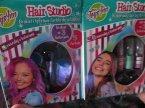 Hair Studio, Brokat i tęczowa farbki do włosów, stylizacja włosów, zestaw kreatywny, zestawy piękności, Kolorowe spraye do włosów