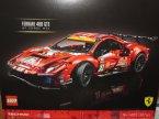 Lego Technic, 42125 Ferrari 488 GTE  AF Corse, klocki Lego Technic, 42125 Ferrari 488 GTE  AF Corse, klocki