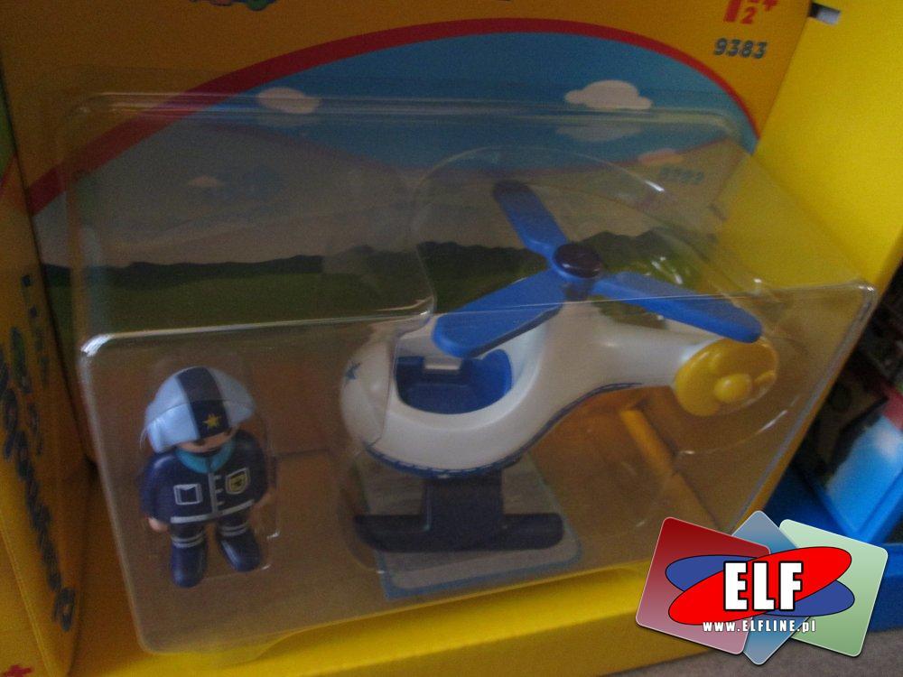 Playmobil 9383, Helikopter policyjny