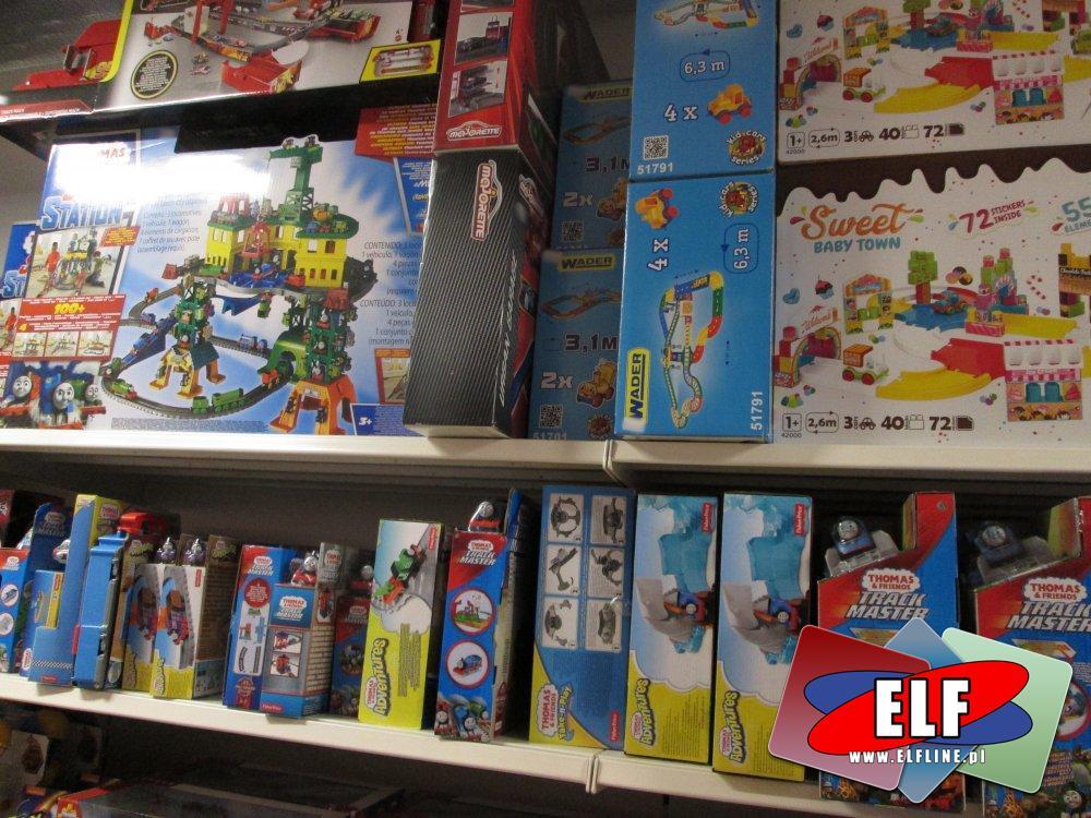 Tomek i przyjaciele, Thomas, Kolejki, Lokomotywy i inne zabawki