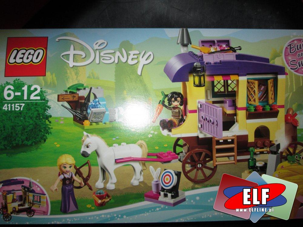 Lego Disney, 41154 Wymarzony zamek Kopciuszka, 41157 Karawana podróżna Roszpunki, 41160 Nadmorski zamek Arielki, klocki