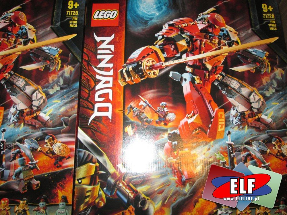 Lego Ninjago, 71720 Mech z ognia i kamienia, klocki