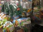 Zabawki w woreczkach, Żołnierzyki, Zwierzęta i inne zabawki, Zabawka