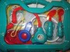 Zestaw lekarski, zestawy lekarskie, zabawa w lekarza, doktora, zabawka, zabawki