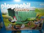 Playmobil Country, 70138, 70134, 70131, 70133, 70132, klocki Playmobil Country, 70138 Mobilny kurnik, 70134 Samochód do sprzedaży owoców i warzyw, 70131 Ciągnik C...