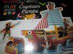 Clementoni, Play Creative, Zabawki kreatywne i edukacyjne, Captain Pirate, Minimarket i inne Clementoni, Play Creative, Zabawki kreatywne i edukacyjne, Captain Pirate, Minimarket i inne