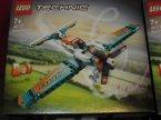 Lego Technic, 42116 Miniładowarka, 42117 Samolot wyścigowy, klocki